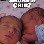 Can Twins Sleep in the Same Crib?