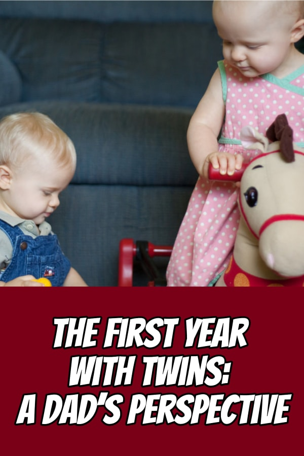 What you can do to survive the first year with twins. Here are the big lessons I learned as a father of twins during the first year raising twins.