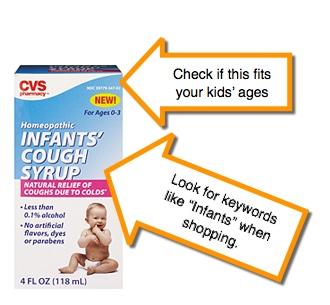 Checking infant medicine