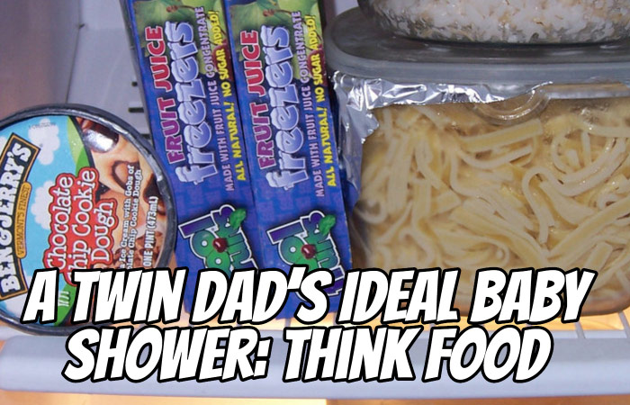 A Twin Dad's Ideal Baby Shower: Think Food