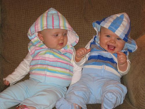Sitting Twins