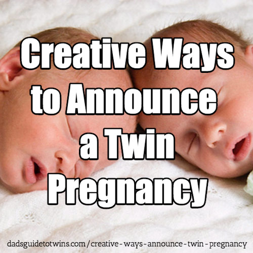 Creative Ways to Announce a Twin Pregnancy