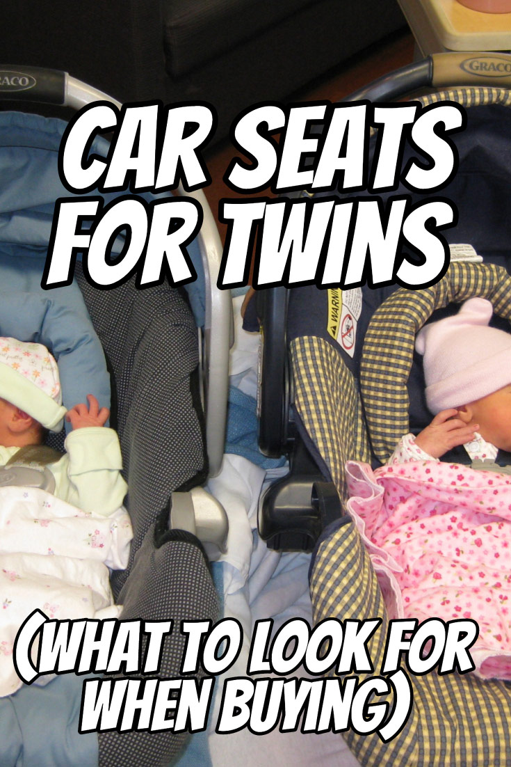 Finding the perfect car seats for your twins can be tricky. Here's what to consider when buying and how your purchase might impact your daily life with twins.