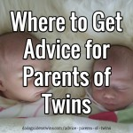 Where to Get Advice for Parents of Twins