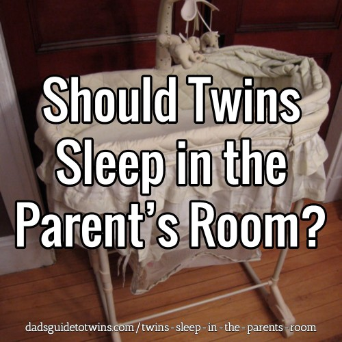 Should Twins Sleep in the Parent's Room?