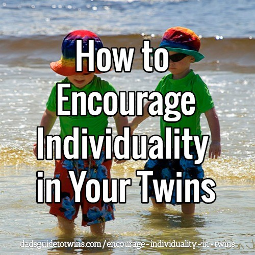 Encourage Individuality in Your Twins