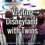 Visiting Disneyland with Twins