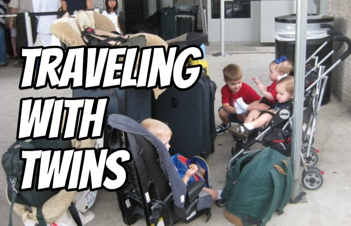 Traveling with Twins - Tips and Tricks to Make it Easy