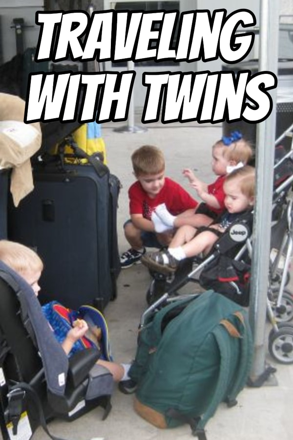 What should you do when traveling with twins? Here's what to pack, how to prepare, and what you need to survive your trip with your twins.