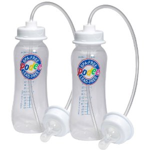 Hands Free Bottles for Twins