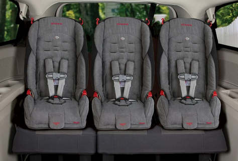 Car Seats For Twins In A Sedan