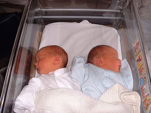 Twins in Hospital
