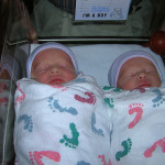 When Do You Stop Swaddling Twins?