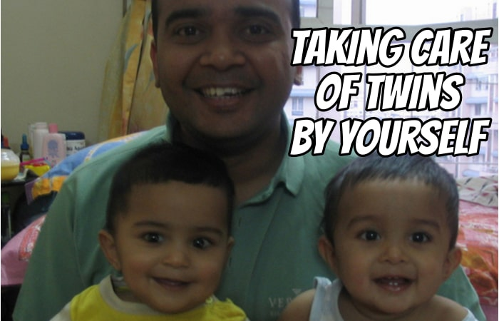 Taking Care of Twins by Yourself