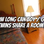 How Long Can Boy / Girl Twins Share a Room?