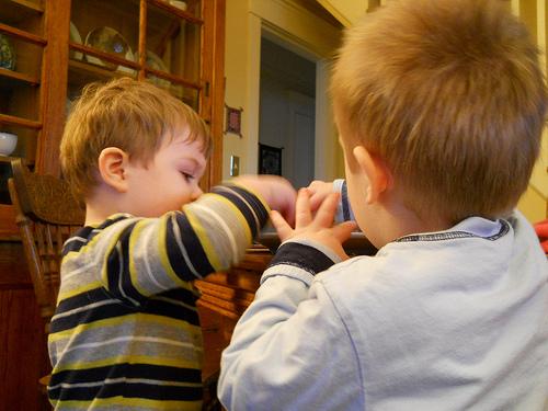 Toddler Boy Twins