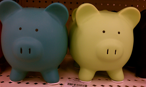 Twin Piggy Banks