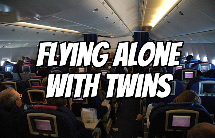 Flying Alone With Twins