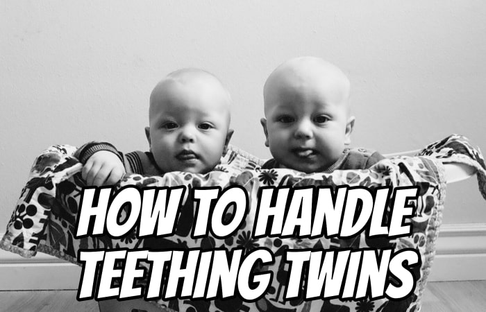 How to Handle Teething Twins
