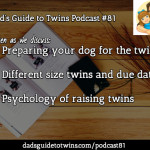 Dogs and Twins, Psychology of Raising Twins, Different Due Dates – Podcast 81