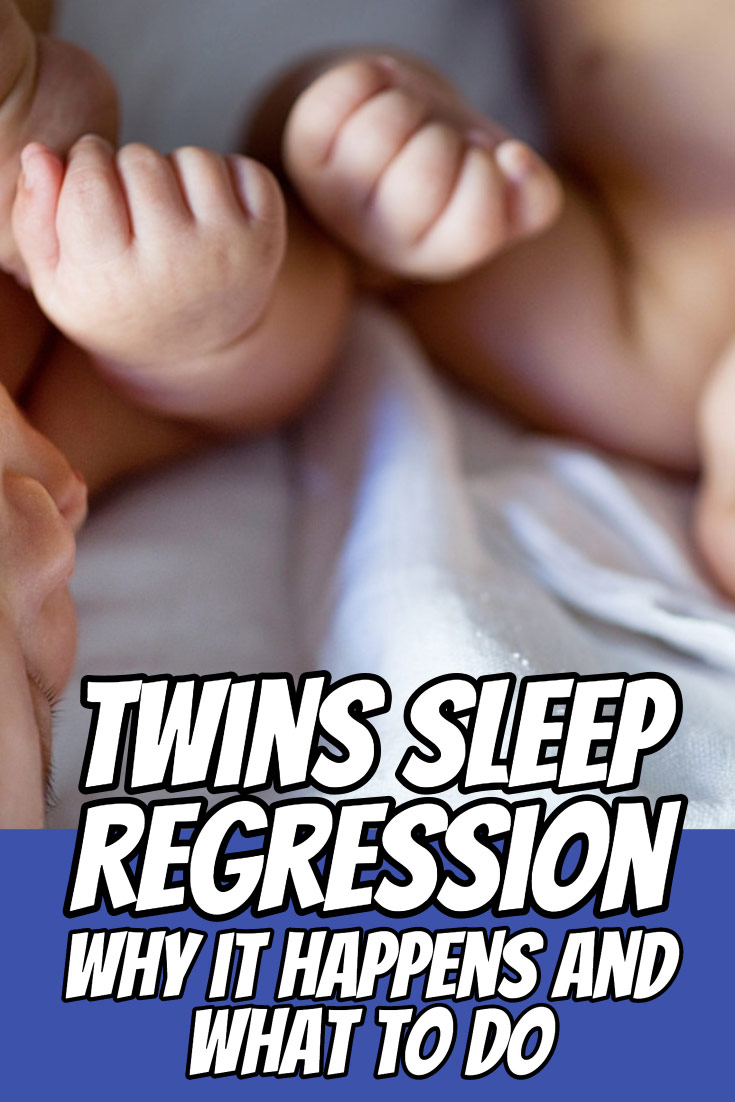 Twins sleep regression is common as your kids mature. Read here for reasons why that happens and what to do about it.