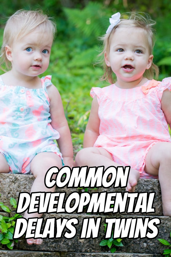 Your twins may experience one of several common developmental delays. Here's what those delays could be and how you can address them as parents.