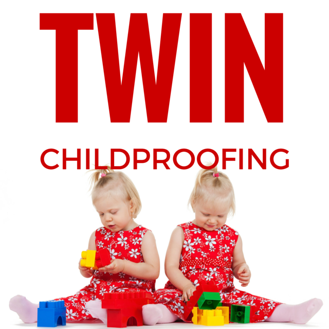 Twin childproofing tips to keep your babies safe
