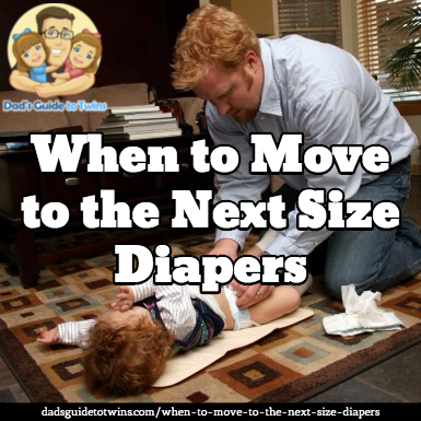 When to move up a diaper size
