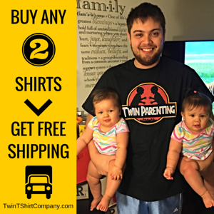Twin Parenting T-Shirt