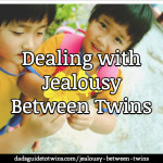 Dealing with Jealousy Between Twins