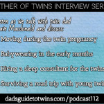 Babywearing Twins, Sleep Consultants, and Family Road Tripping with Dave Macdonald – Podcast 112