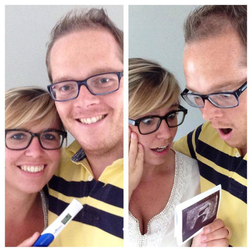 Positive pregnancy test joy to twins shock