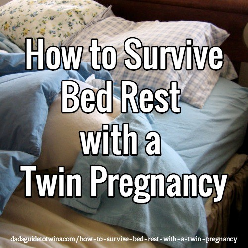 How to Survive Bed Rest with a Twin Pregnancy
