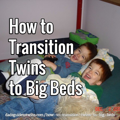 Transition Twins Crib Bed