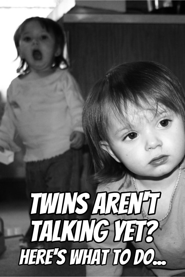 Are your twins not talking yet? Here are key speech milestones they should have and when you need to talk to your doctor about their speech development.