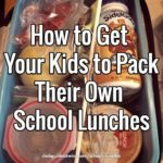 How to Get Your Kids to Pack Their Own School Lunches