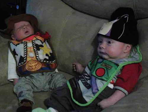 Buzz and Woody Twins
