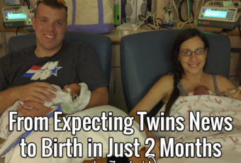 From Expecting Twins News to Birth in Just 2 Months