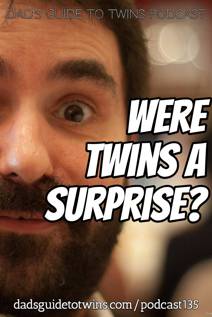Were you shocked to find out you were having twins?