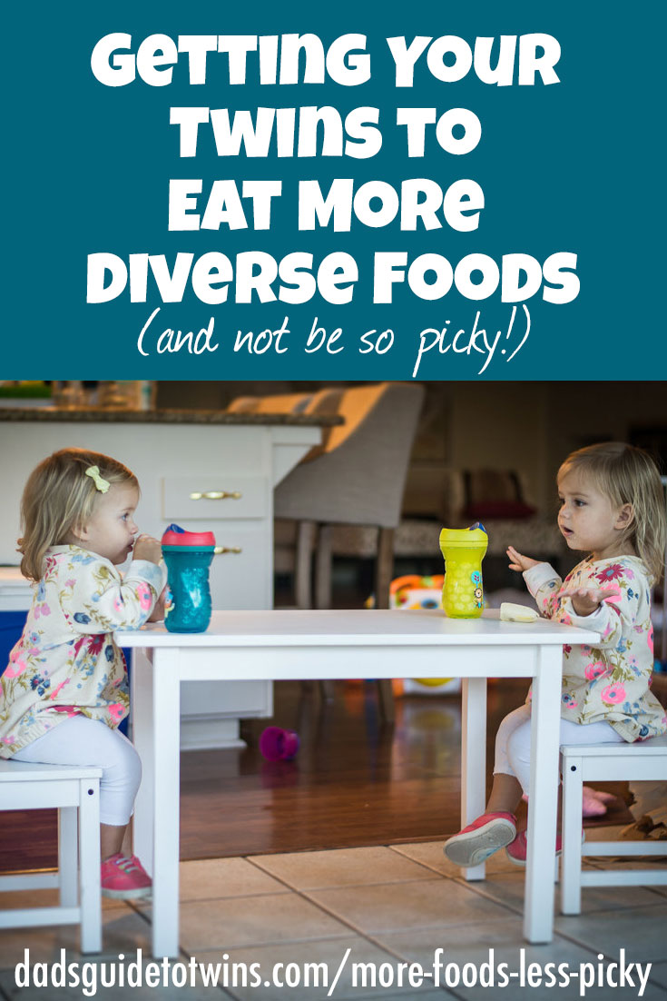 Getting Your Twins to Eat More Diverse Foods