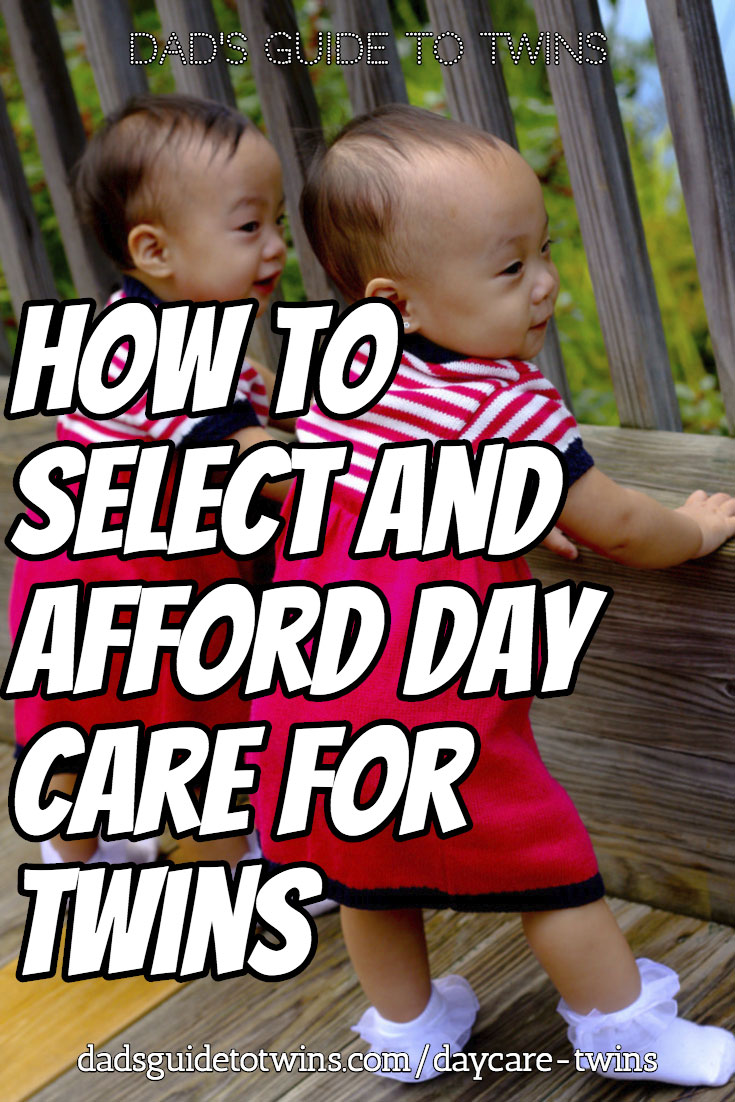 Select and Afford Day Care for Twins
