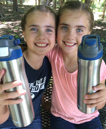 Girls with Contigo AUTOSEAL® Chill Water Bottle