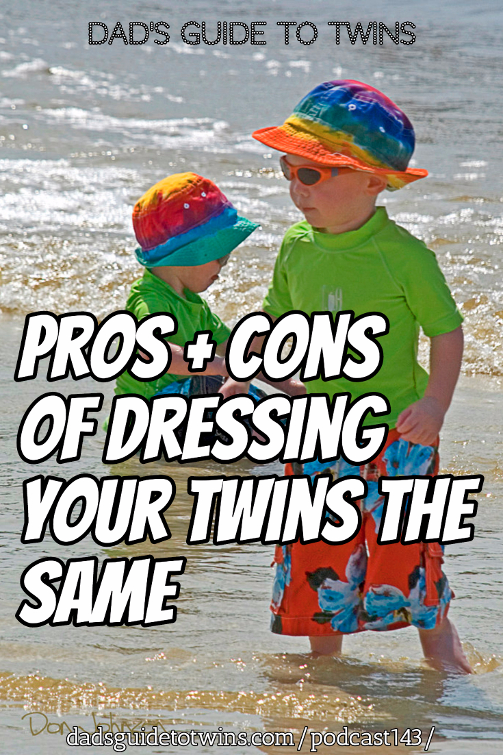 Pros and Cons of Dressing Your Twins the Same