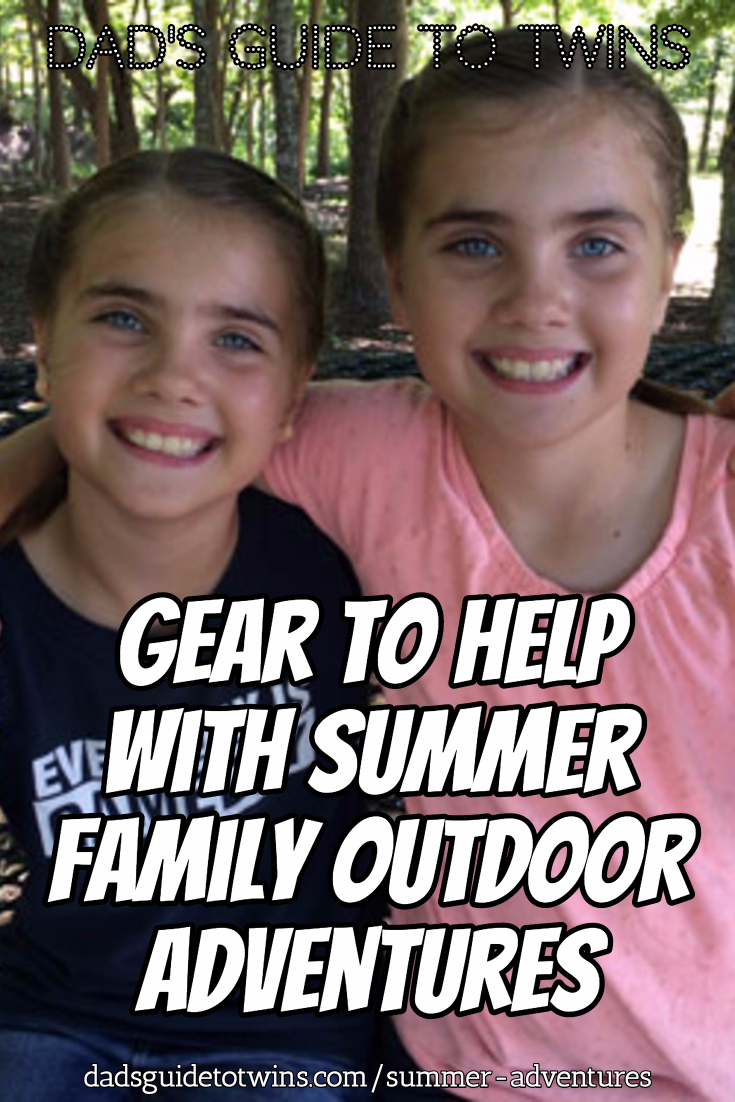 Great Gear to Help with Summer Family Outdoor Adventures
