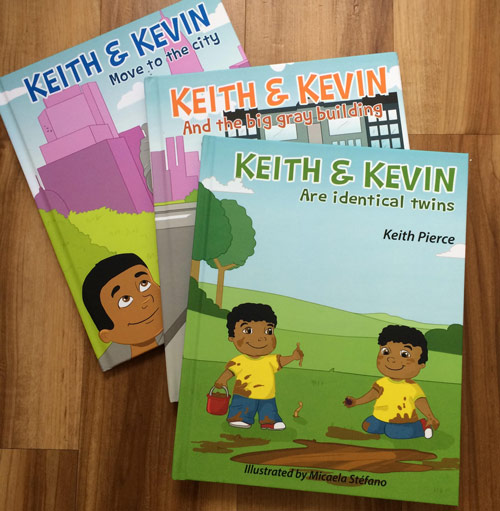 Keith and Kevin Twin Books