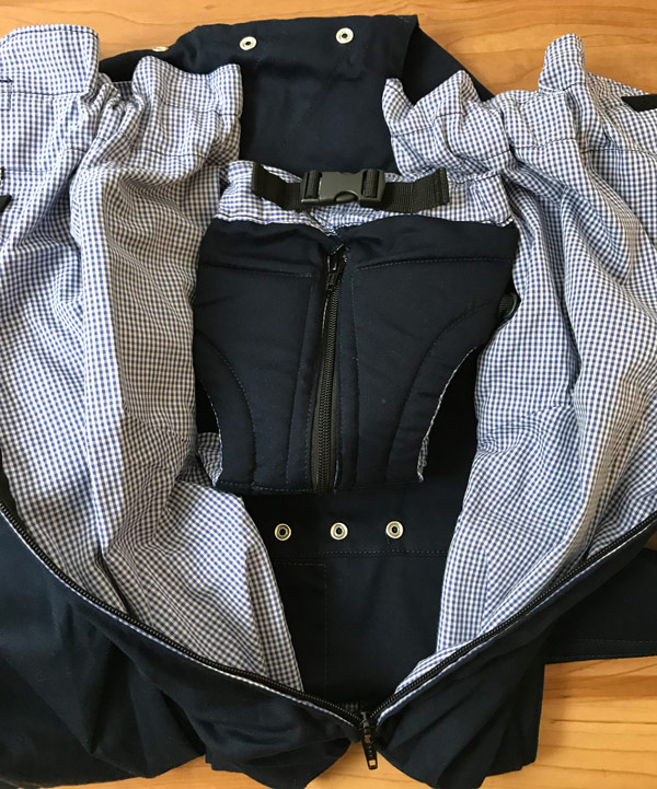 Inside the Weego TWIN Baby Carrier