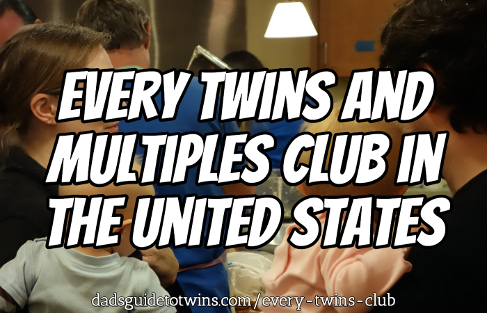 Every Parents of Multiples, Mothers of Multiples, and Twins Club in the United States