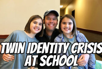 Twin Identity Crisis at School