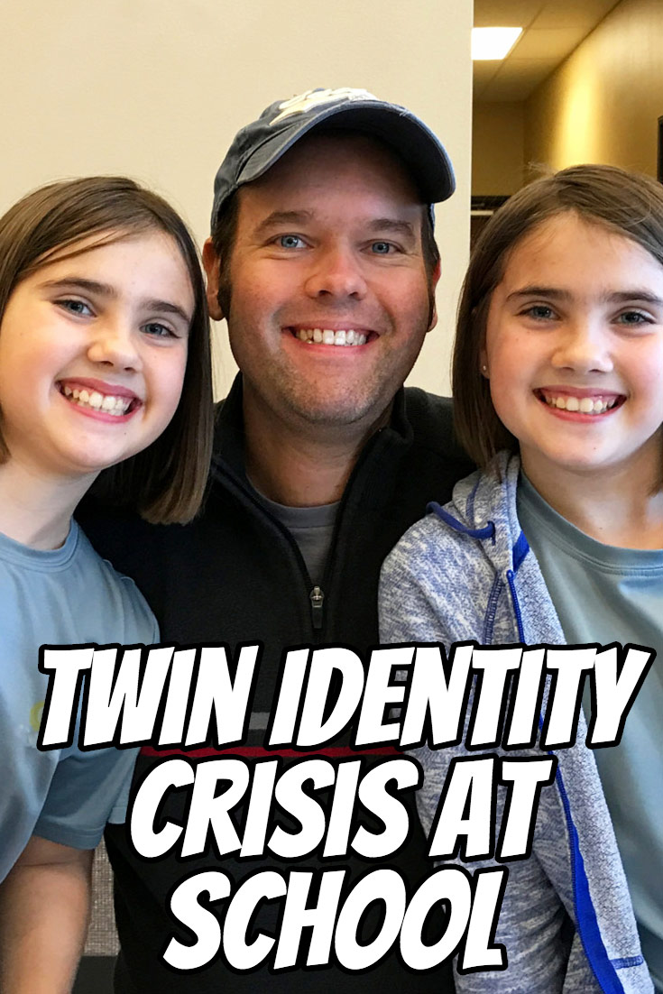 Are your twins having an identity crisis at school? You might be surprised to see how their classmates and teachers treat and interact with them on a daily basis. Here's an example from my identical twin girls' school life and how we've tried to help them navigate through these challenges.