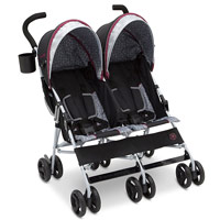 J is for Jeep Twin Umbrella Stroller